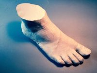 ساخت کفی با قالبگیری از پا